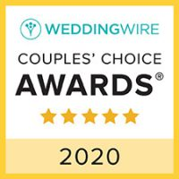 Awards Icon for 2020 5 Stars Best Wedding Site Wedding Wire