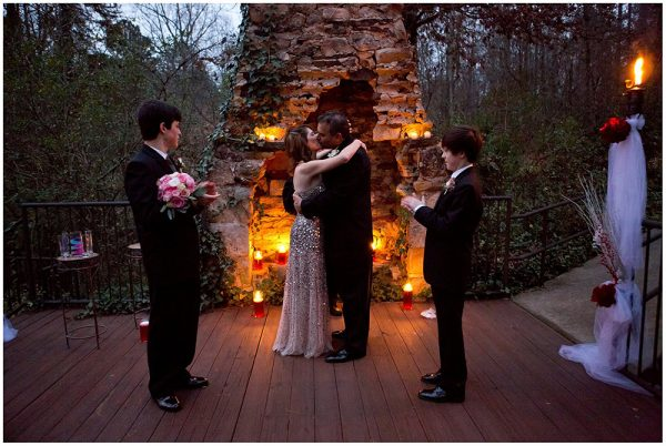Wedding by the Chimney